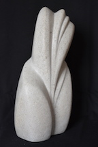 VZGIB, kamen, 2015, višina 34 cm