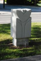 POMLAD, 2007, porobeton, višina 130cm